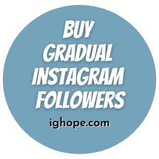Buy Gradual Instagram Followers
