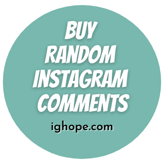 Buy Random Instagram Comments