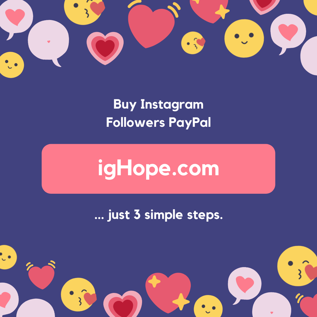 Buy Instagram Followers PayPal