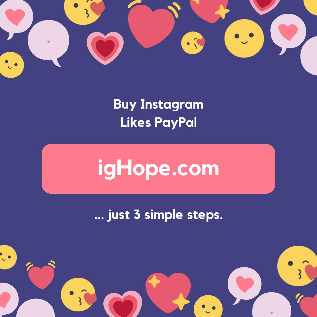 Buy Instagram Likes PayPal